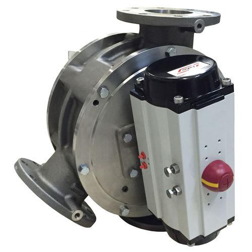 válvula desviadora para transporte neumático