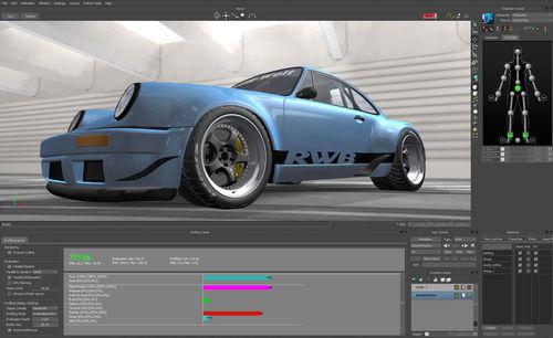 software de edición / de animación / 3D