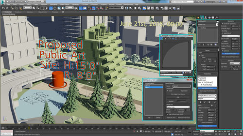 software de animación / de modelización / 3D