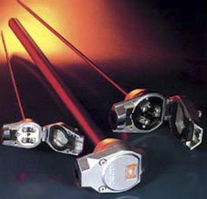 termopar tipo K / con termopozo / para altas temperaturas