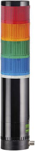 columna de señalización LED / permanente / de 3 colores / modular