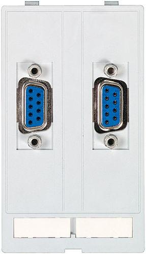 conector audio/vídeo / D-sub / VGA / rectangular