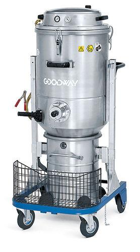 aspirador de polvo / para polvo nocivo / monofásico / industrial