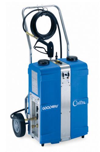 máquina de limpieza de agua / manual / para aplicaciones de calefacción, ventilación y aire acondicionado (HVAC) / por aspersión