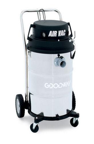 aspirador de polvo / de aire comprimido / industrial / móvil