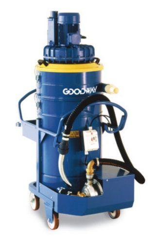 aspirador de aceite y virutas / trifásico / industrial / móvil