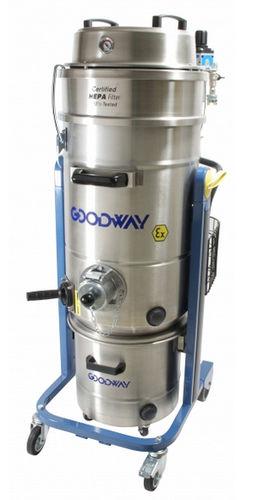 aspirador de polvo / para polvo nocivo / trifásico / industrial