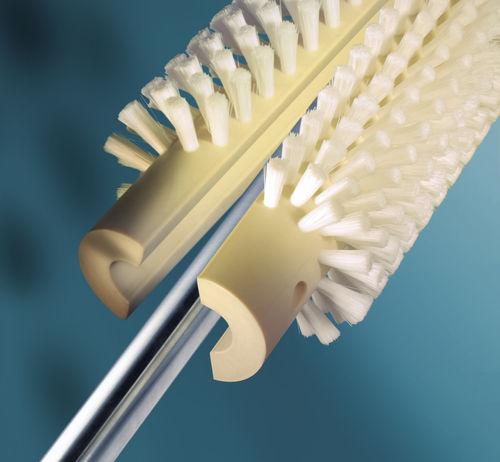 cepillo cilíndrico / para desempolvar / de limpieza / de desbastado