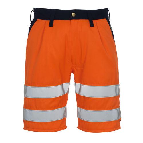 pantalón corto de trabajo / de alta visibilidad / con cremallera