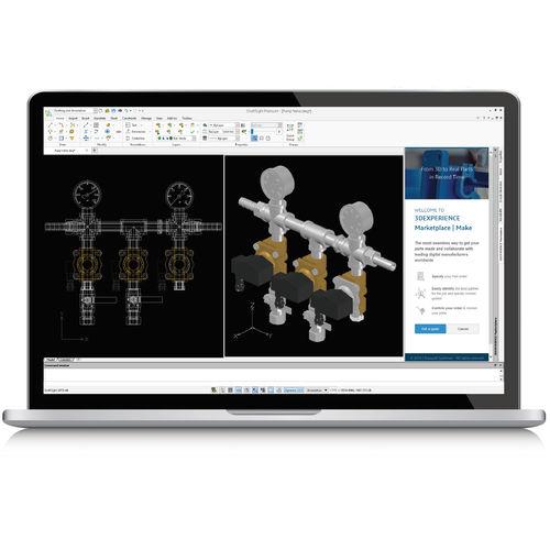 software de CAD / de modelización / para esquema eléctrico / PDM