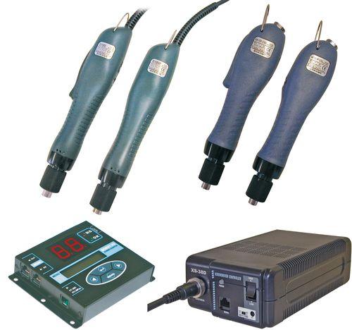 atornilladora eléctrica con cable / recta / de baja tensión / estacionaria