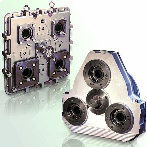 reductor de tren de engranajes / coaxial / para bomba / de múltiples salidas