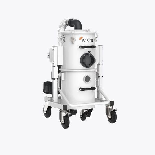 aspirador de virutas / trifásico / industrial / compacto