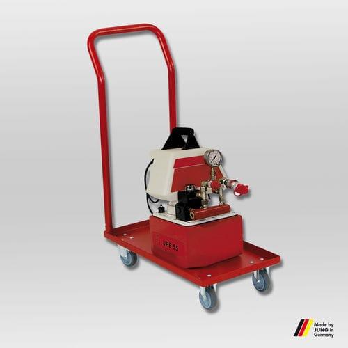 bomba hidráulica con motor eléctrico / compacta / con control remoto / de 2 etapas