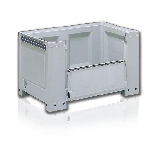 caja-palé de polietileno / para almacenamiento / homologado UN / apilable