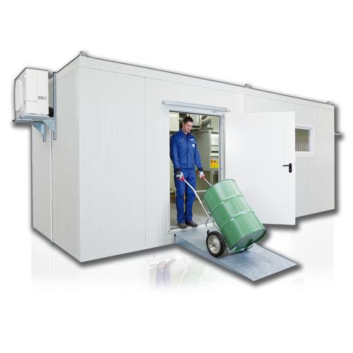 container de metal / para almacenamiento / para productos peligrosos