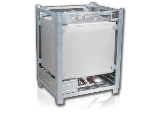 cuba de almacenaje / de combustible / para material peligroso / vertical