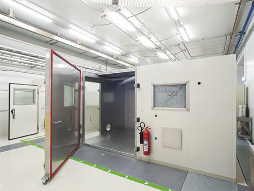 cabina de descontaminación