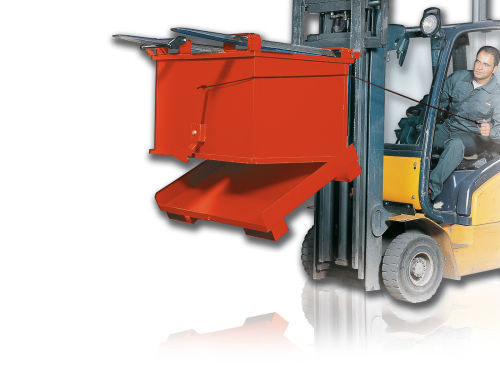 contenedor de residuos para residuos urbanos