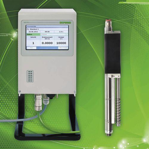 atornilladora eléctrica con cable / recta / estacionaria / servo-controlado