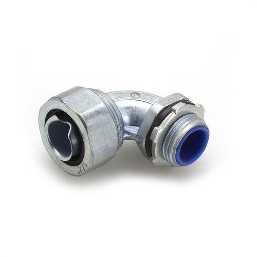 racor de encaje / codo de 90º / de zinc