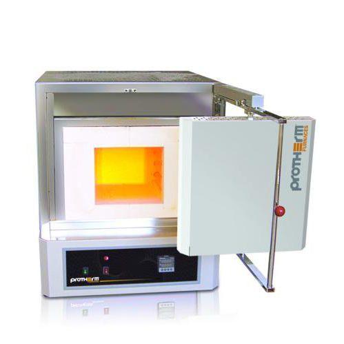 horno de calcinado / de cámara / resistencia eléctrica / programable