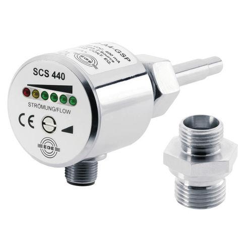 controlador de caudal térmico / para líquido / de acero inoxidable / para ambientes nocivos