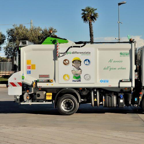 compactador de basura mezclado / móvil / monobloque
