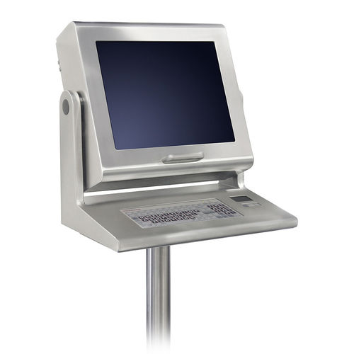 terminal táctil / con teclado / de pie / 1024 x 768