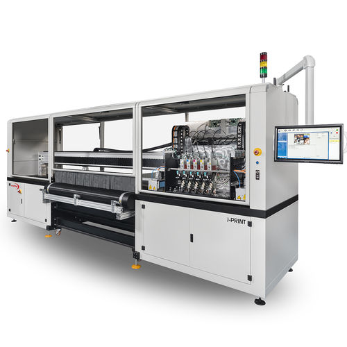 impresora de inyección de tinta / de pie / flexible / digital