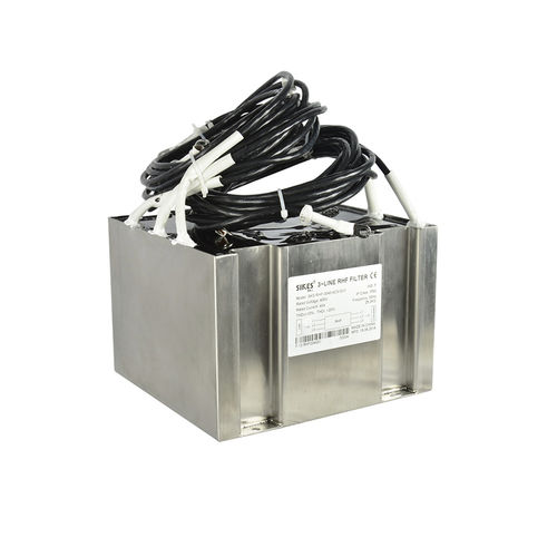 filtro electrónico paso bajo / pasivo / sinusoidal / de armónico