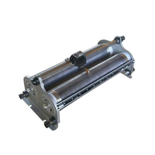 resistencia de alambre bobinado / con barra de soporte / ajustable / de doble tubo