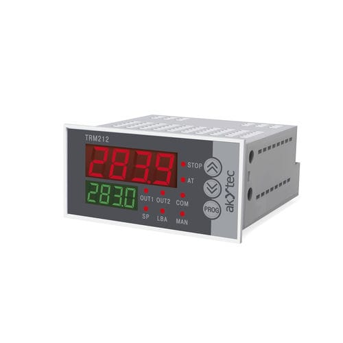 controlador de temperatura con indicador digital / doble visualizador led / PID / monovía