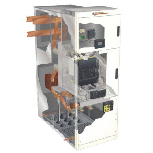 cuadro eléctrico AC / trifásico / bajo envolvente metálico / industrial