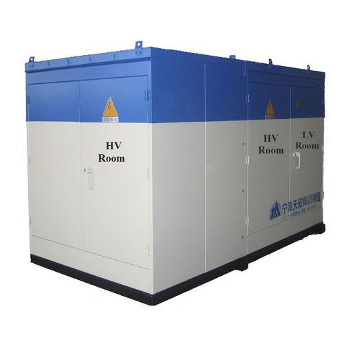transformador de potencia / sumergido / sellado herméticamente / de bajo consumo