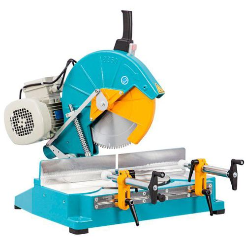 sierra ingletadora / para aluminio / para PVC / para madera