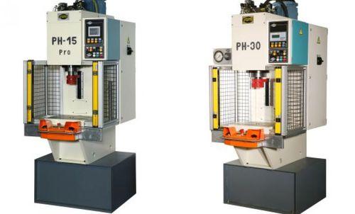 prensa hidráulica / de punzonar / para ensamblaje / de 2 columnas