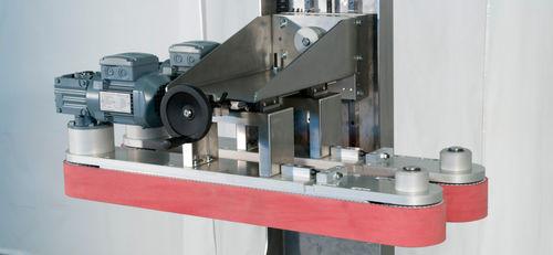 transportador de banda / de piezas para procesar / de cuña