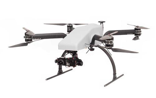 UAV octorrotor / para toma de imágenes aéreas