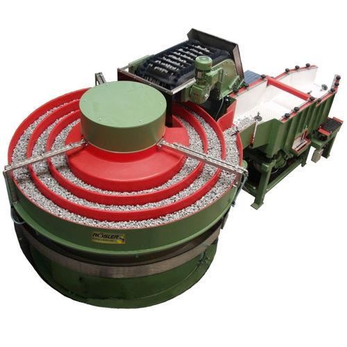 máquina de triboacabado rectificadora / de desbastado / centrífuga / para la industria