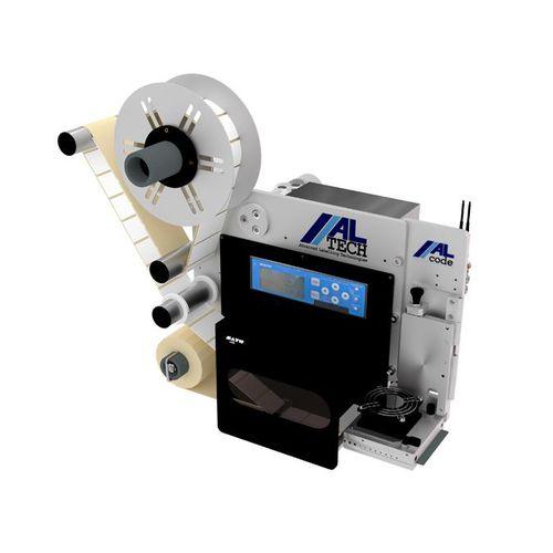 máquina de impresión-colocación de etiquetas de transferencia térmica / monocroma / para etiquetas / para papel