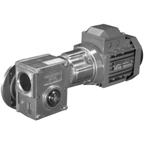 motorreductor de tornillo sin fin / de ejes ortogonales / compacto / de alto par
