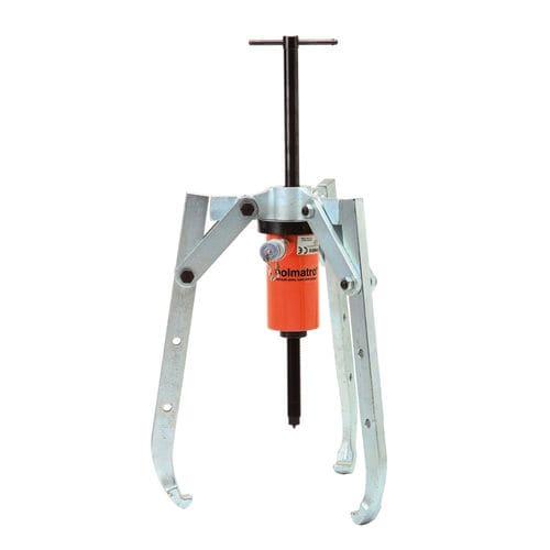 extractor de rodamientos hidráulico / de 3 garras