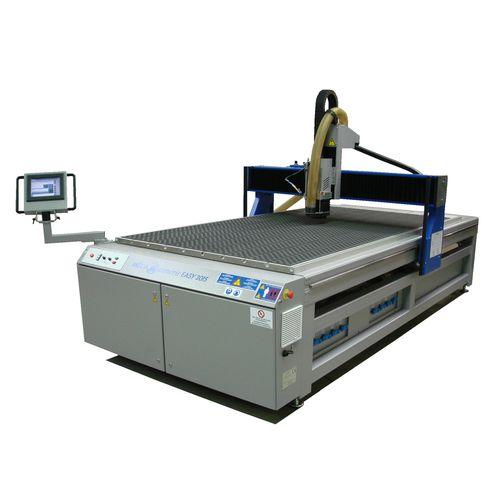 fresadora CNC 3 ejes / vertical / con mesa fija / de pórtico