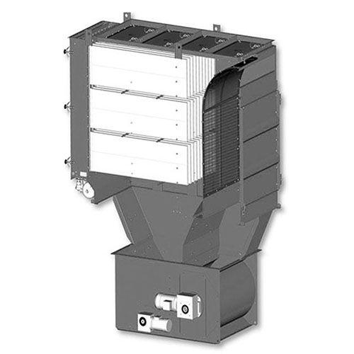 separador de aire / de desechos