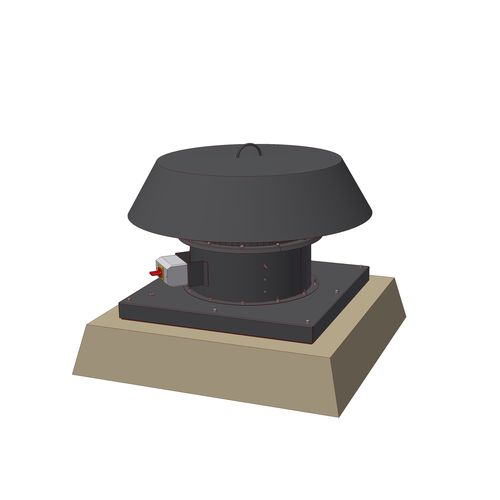 ventilador de tejado