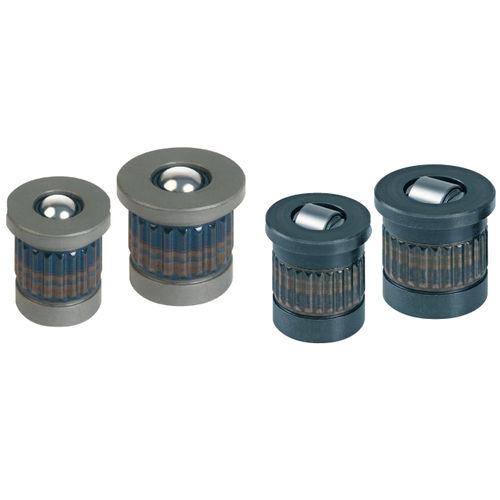 inserto a presión / de metal / redondo / de distribución de carga
