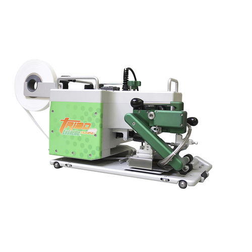 máquina de soldar con calces calefactores / AC / automática / para textiles