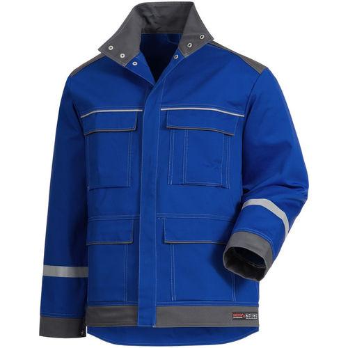chaqueta de trabajo / de protección química / ignífuga / antiestática