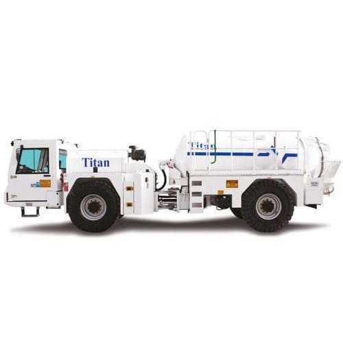 camión hormigonera para mina subterránea / diésel